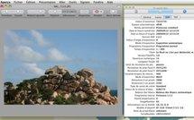Aperçu • Visualisez les données EXIF d'une photo