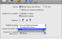 iPhoto • Retoucher dans un éditeur externe