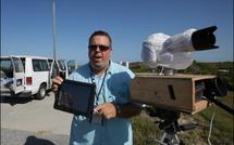 Un 5D Mark II, un iPad et une navette spatiale