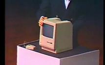 Keynote de 1984, premier Macintosh