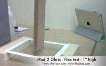 La vitre de l'iPad 2 est-elle solide ?