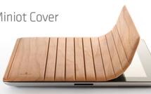 iPad 2, une smart cover en bois