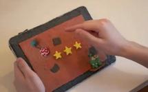 L'iPad animé en pâte à modeler