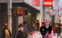 iPad Painting - Market Street