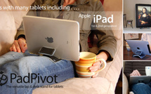 Padpivot, un support intelligent pour l'iPad