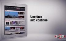 Le journal Libération sur iPad