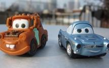 L'iPad et les petites voitures Cars