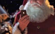 Et si le Père Noël utilisait l'iPhone 4S ?