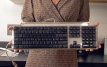 Nettoyer son clavier ? L'exemple à ne pas suivre