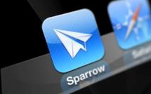 Sparrow, disponible sur l'AppStore