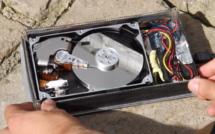 Comment un disque dur fonctionne, en slow motion