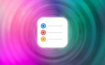 Rappels • Changez l'icône et la couleur d'une liste de tâches