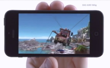 Nouvelle publicité iPhone 5 : Physique