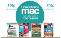 -50% sur les numéros de Compétence Mac vendus d'occasion