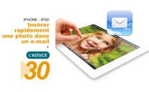 Insérer rapidement une photo dans un e-mail