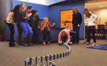 10.000 iPhone 5 pour un domino géant d'une minute