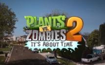 """Une bande annonce qui décoiffe pour le jeu """"Plantes contre Zombies 2"""" (disponible le 18 juillet)"""