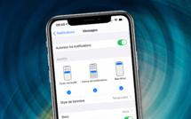 iOS • Modifier la répétition des alertes de réception d'un message
