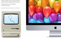 Apple célèbre les 30 ans du Macintosh