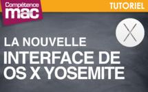 Coup d'œil sur la nouvelle interface de OS X Yosemite (tutoriel vidéo)
