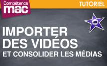Importer des vidéos et consolider les médias • iMovie (tutoriel vidéo)