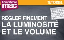 Régler finement la luminosité et le volume • Mac (tutoriel vidéo)