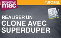 Réaliser un clone avec SuperDuper • Mac (tutoriel vidéo)
