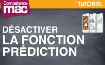 Désactiver temporairement la fonction Prédiction • iPhone (tutoriel vidéo)