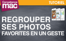 Regrouper ses photos favorites en un geste • iPhone (tutoriel vidéo)