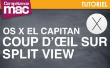 Coup d'œil sur la fonction Split View de OS X El Capitan