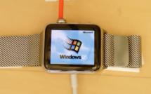 Faire tourner Windows 95 sur une Apple Watch, c'est possible